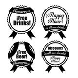 Beer design, vector illustration. Stock Photos