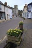 Beer in Devon. Beautiful picturesque village of Beer in Devon royalty free stock image