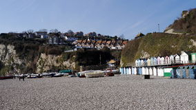 Beer Devon England. The pretty coastal fishing village of Beer on the East Devon Coast in England Stock Photography