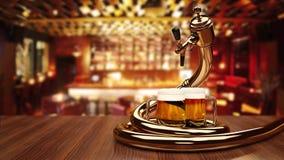 Beer Dispenser Royalty Free Stock Photos