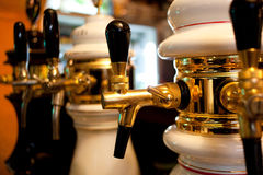 Beer dispensers Stock Photo