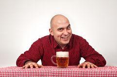 Beer drinker Stock Photos