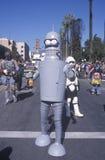 Beer drinking, cigar smoking robot marching at the Doo Dah Parade, Pasadena, California Stock Photo