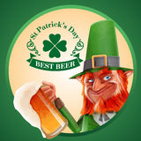 Beer elfs banner Royalty Free Stock Photos