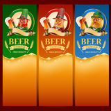 Beer elfs list Royalty Free Stock Photos