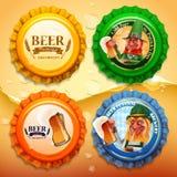 Beer elfs list Stock Images