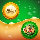 Beer elfs list 2 Stock Photography