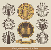 Beer Emblem Royalty Free Stock Photography