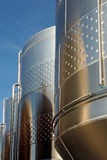 Beer fermentaion tank Royalty Free Stock Photo