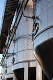 Beer fermentaion tank Royalty Free Stock Image