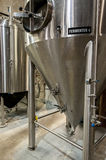Beer fermenter tank Royalty Free Stock Photography