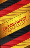 Beer festival background Royalty Free Stock Image