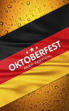 Beer festival background Stock Image