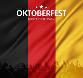 Beer festival background Royalty Free Stock Images