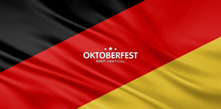 Beer festival background Royalty Free Stock Photo