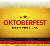 Beer festival background Stock Photography