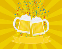 Beer Festival and Celebration Royalty Free Stock Photography