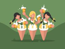 Beer festival oktoberfest Royalty Free Stock Photography