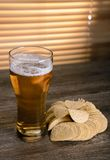 Beer and fish Royalty Free Stock Images