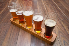 Beer Flight. Stock Photography