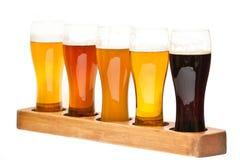Beer Flight. Stock Photos