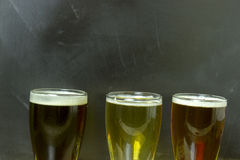 Beer flight Stock Images