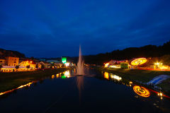 Beer And Flower Festival in Laško, Slovenia Royalty Free Stock Photo