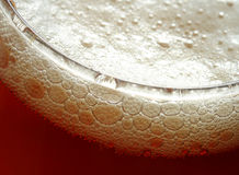 Beer foam Royalty Free Stock Photo