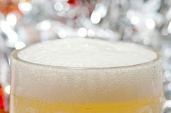 Beer foam Stock Images