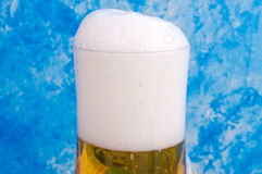 Beer with foam Royalty Free Stock Image
