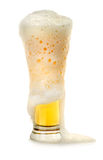 Beer and foam Royalty Free Stock Photo