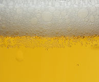 Beer foam, background Royalty Free Stock Photo