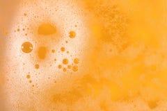 Beer foam texture. Beer foam texture close up as background Stock Image