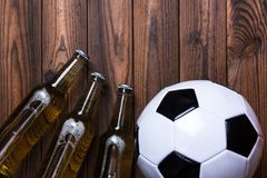 Beer Football Stock Images