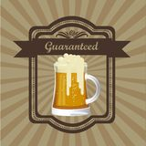 Beer Free label Royalty Free Stock Image