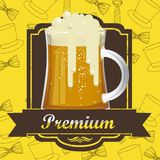 Beer Free label Royalty Free Stock Photos