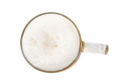 Beer Froth. Close up shot for background use stock photo