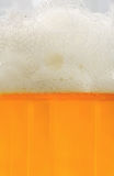 Beer with froth Royalty Free Stock Photo