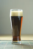 Beer with froth. Close up Stock Photography