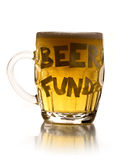 Beer fund pint Royalty Free Stock Images