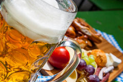 Beer garden Royalty Free Stock Images