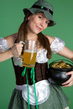 Beer Girl Stock Photography