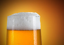Beer in a glass Royalty Free Stock Images