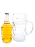 Beer and glass Stock Image
