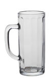 Beer Glass with clipping path Royalty Free Stock Image