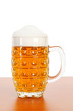 Beer glass isolated Royalty Free Stock Photos
