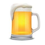 Beer glass mug Stock Photo