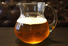 Beer glass object lager Stock Image