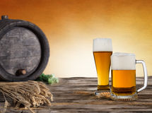 Beer glass Royalty Free Stock Image