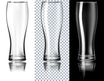 Beer Glass. Vector Illustration.  Royalty Free Stock Photography
